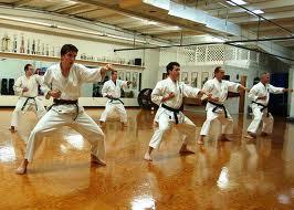 Martial Artists barefoot